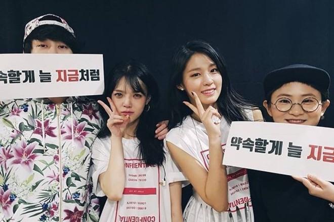 Các hội bạn thân sao Hàn khác giới đình đám showbiz: V (BTS) quen mỹ nhân hơn 17 tuổi, Heechul như thánh kết bạn - ảnh 23