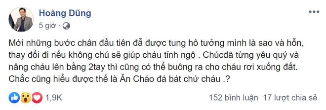 NSND Hoàng Dũng bất ngờ đăng đàn chỉ trích cháu gái mới nổi, bình luận réo tên tomboiloichoi liền bị xóa - ảnh 1