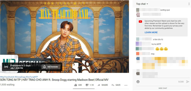 """Ngoài view 24 giờ đầu, còn cột mốc nào Sơn Tùng M-TP có khả năng công phá ở lần comeback này trên """"mặt trận Youtube? - Ảnh 1."""