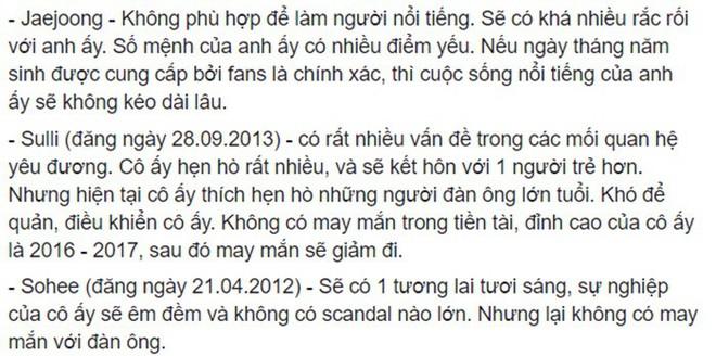 Rùng mình hàng loạt lời tiên tri chính xác về sao Hàn: Vụ chấn động của YG và Song Song trúng phóc, số 5 sốc nhất - Ảnh 15.