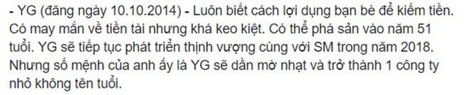 Rùng mình hàng loạt lời tiên tri chính xác về sao Hàn: Vụ chấn động của YG và Song Song trúng phóc, số 5 sốc nhất - Ảnh 5.