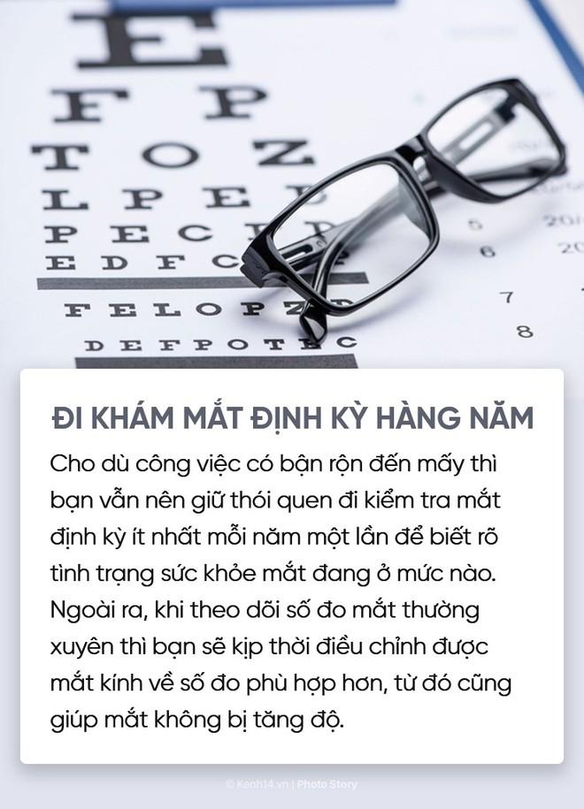 Vài thói quen cần tạo để có 1 đôi mắt long lanh và không lo bị tăng số - Ảnh 7.