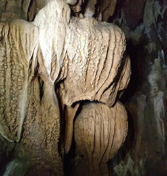 Phát hiện hang động thạch nhũ tuyệt đẹp, có hình thù kỳ lạ ở Quảng Trị - ảnh 8