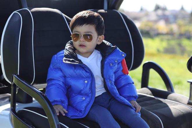 Không chỉ có sở thích siêu xe tiền tỷ, con trai Đan Trường còn đếm số thành thạo bằng 3 thứ tiếng dù mới lên 2 tuổi - Ảnh 3.
