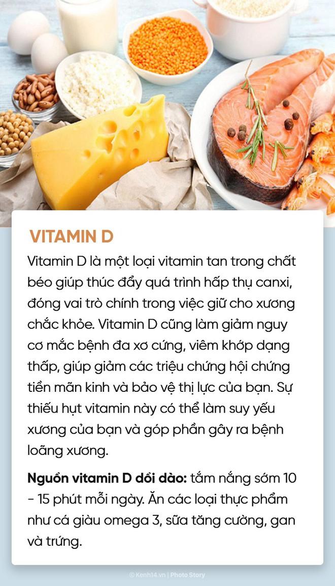 Hội chị em muốn xinh đẹp, khoẻ mạnh, thông minh đừng quên bổ sung đủ 10 loại vitamin này - Ảnh 9.