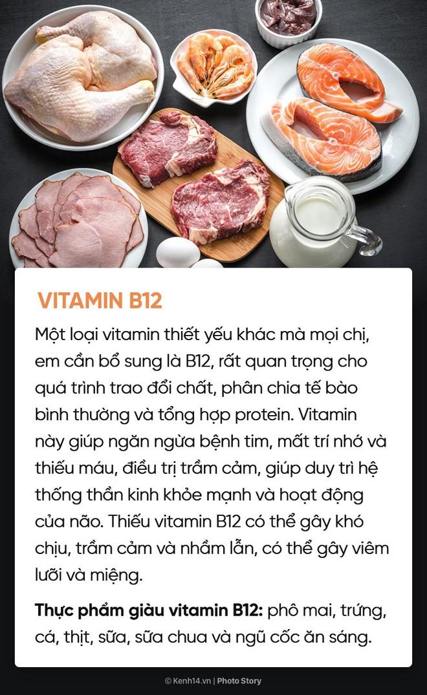 Hội chị em muốn xinh đẹp, khoẻ mạnh, thông minh đừng quên bổ sung đủ 10 loại vitamin này - Ảnh 17.