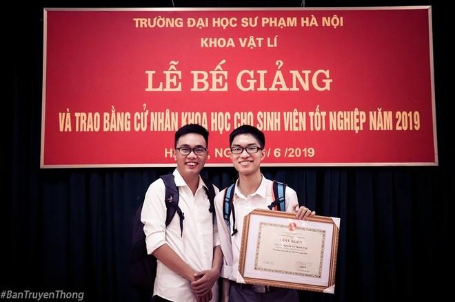 Bài phát biểu tốt nghiệp lay động của thủ khoa trường sư phạm - ảnh 1