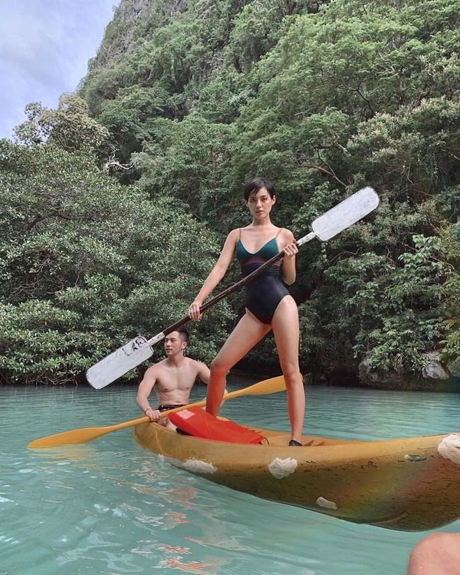 """Đã đến hòn đảo đẹp nhất Philippines là phải chơi """"tới bến"""" trò này như hội bạn thân vợ chồng Giang Ơi, Dino Vũ, Khánh Linh The Face - Ảnh 11."""