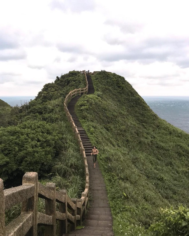 Phát hiện Vạn Lý Trường Thành phiên bản thu nhỏ ngay tại Đài Loan, được giới travel blogger thuộc nằm lòng - ảnh 1