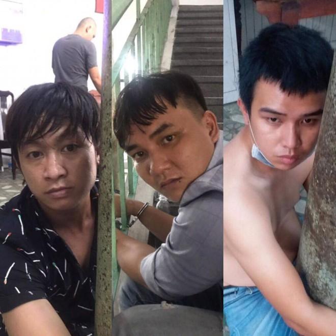 Bị truy đuổi, nhóm cướp dùng hung khí, bình xịt hơi cay tấn công người dân và công an Sài Gòn - ảnh 2
