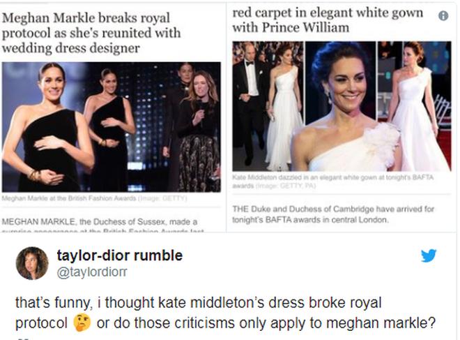 """Không ngừng bị chỉ trích về trang phục như """"tát nước vào mặt"""", Meghan Markle phải chịu bất công quá lớn so với công nương Kate - ảnh 6"""