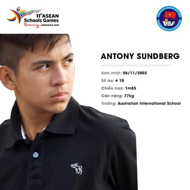 Điểm danh 12 gương mặt xuất sắc nhất của tuyển bóng rổ nam U18 Việt Nam tại ASEAN Schools Games 2019 - ảnh 9