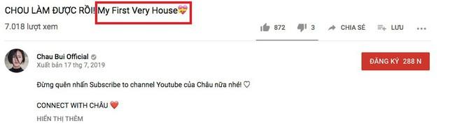 Châu Bùi háo hức đăng video khoe nhà mới mua đến nỗi sai ngay lỗi ngữ pháp Tiếng Anh cơ bản nhất - ảnh 1