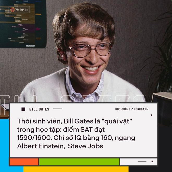 Người trẻ đua nhau bỏ học Đại học để thành tỷ phú như Bill Gates nhưng có 8 sự thật về việc học của ông không phải ai cũng biết - ảnh 1