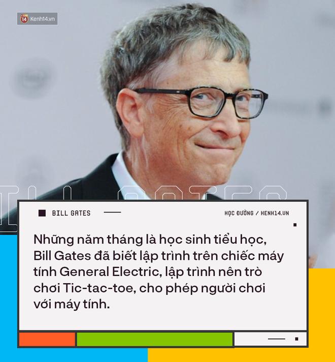 Người trẻ đua nhau bỏ học Đại học để thành tỷ phú như Bill Gates nhưng có 8 sự thật về việc học của ông không phải ai cũng biết - ảnh 2