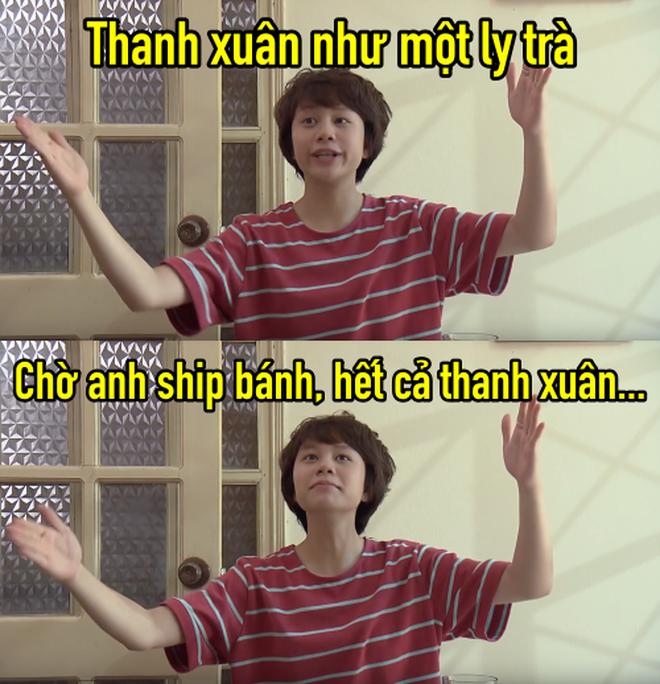 Thanh xuân như một ly trà của Dương (Về nhà đi con) thành hot trend, dân tình điên đảo áp dụng làm caption thả thính, bán hàng online - ảnh 4