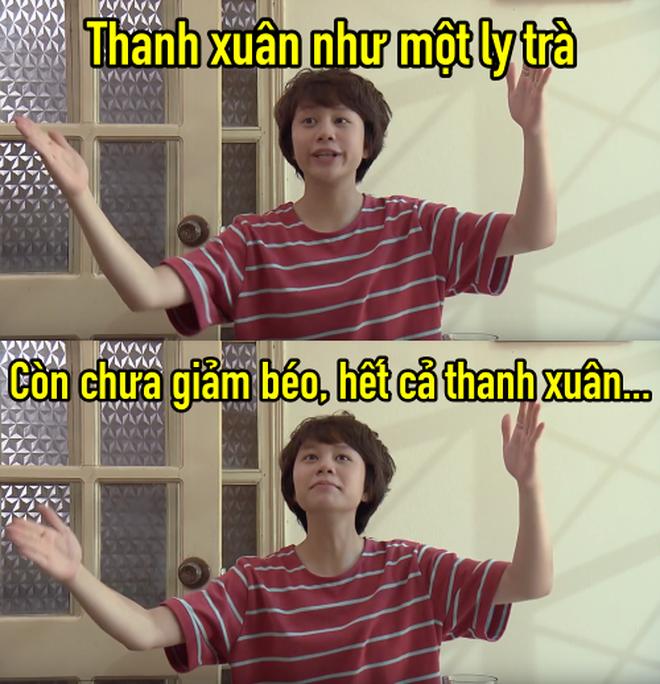Thanh xuân như một ly trà của Dương (Về nhà đi con) thành hot trend, dân tình điên đảo áp dụng làm caption thả thính, bán hàng online - ảnh 3