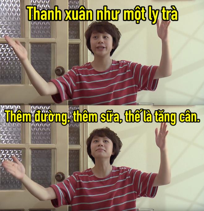 Thanh xuân như một ly trà của Dương (Về nhà đi con) thành hot trend, dân tình điên đảo áp dụng làm caption thả thính, bán hàng online - ảnh 2
