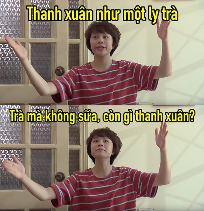 Thanh xuân như một ly trà của Dương (Về nhà đi con) thành hot trend, dân tình điên đảo áp dụng làm caption thả thính, bán hàng online - ảnh 5