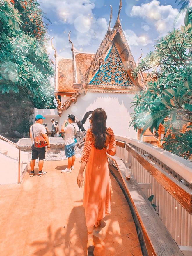 Có một Thái Lan trong veo với trời xanh ngắt cùng các món ăn đầy màu sắc qua ống kính của thí sinh Here We Go 2019 - ảnh 19