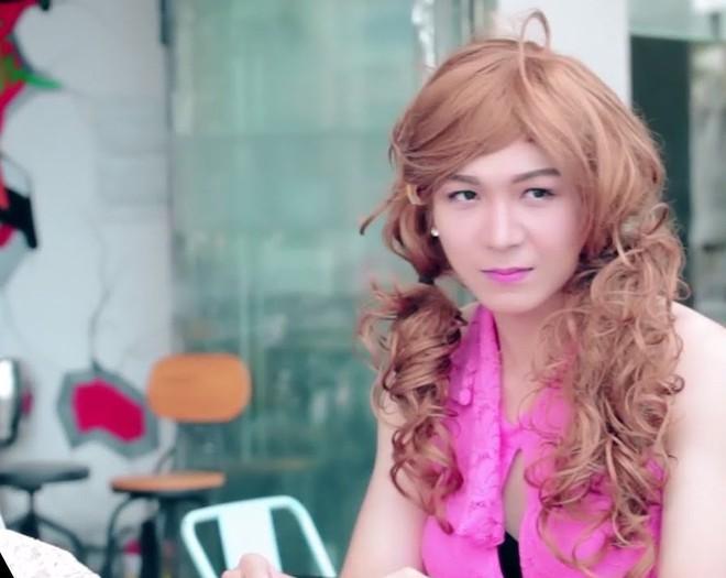 """Hiếm hoi lắm mới thấy Kelvin Khánh giả gái, mẹ Khởi My thích thú gọi ngay con rể là """"nàng tiên"""" - ảnh 3"""