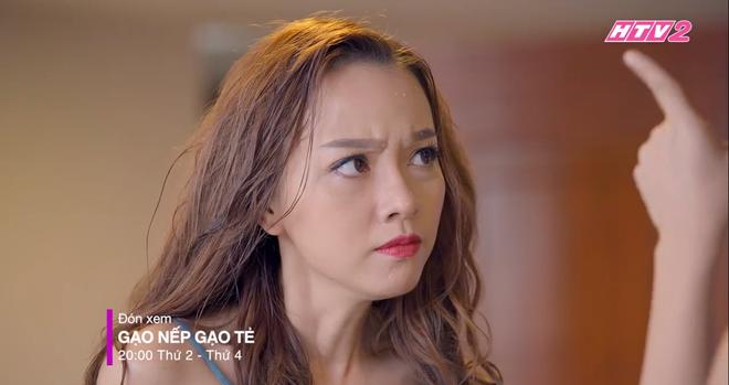 3 màn đánh ghen hộ khiến tiểu tam kinh hồn bạc vía trên truyền hình Việt: Chị Linh đầu bò vẫn kém Trang Khàn một bậc - Ảnh 5.