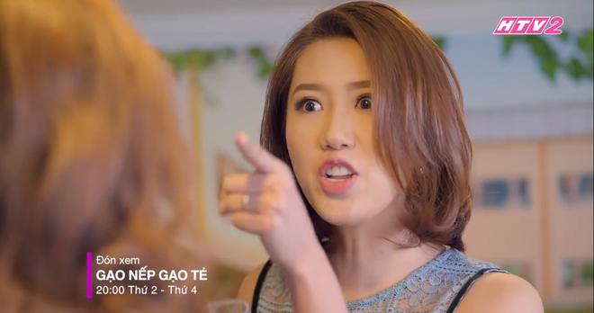 3 màn đánh ghen hộ khiến tiểu tam kinh hồn bạc vía trên truyền hình Việt: Chị Linh đầu bò vẫn kém Trang Khàn một bậc - Ảnh 4.