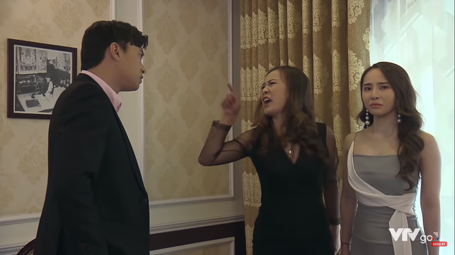 3 màn đánh ghen hộ khiến tiểu tam kinh hồn bạc vía trên truyền hình Việt: Chị Linh đầu bò vẫn kém Trang Khàn một bậc - Ảnh 3.
