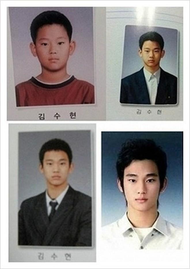 Loạt ảnh hiếm thời đi học của 15 sao Hàn đình đám: Ai cũng thay đổi nhan sắc chóng mặt, khác nhất là Song Hye Kyo, T.O.P, Kim Woo Bin... - ảnh 15