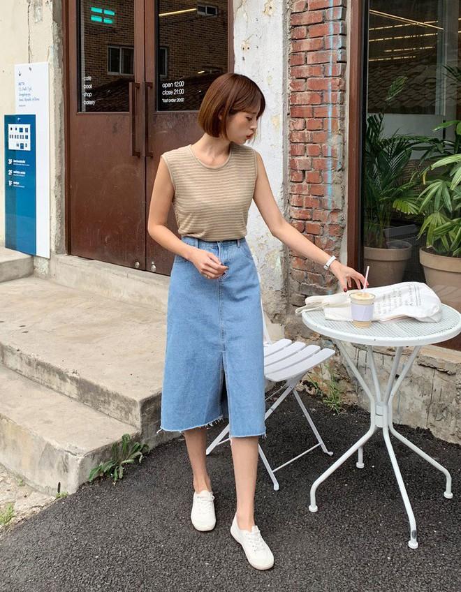 U35 và vóc dáng thấp bé nhưng Phạm Quỳnh Anh vẫn hack dáng quá đỉnh chỉ nhờ khéo diện chân váy xẻ - ảnh 9