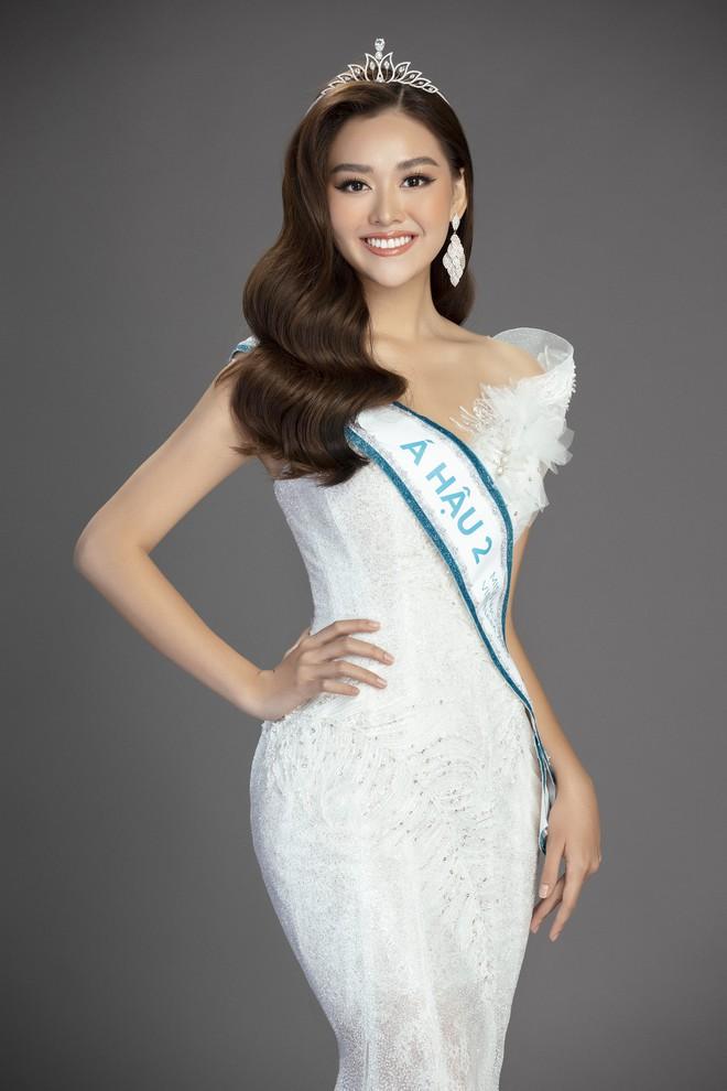Bộ ảnh đẹp phô diễn triệt để nhan sắc của Top 3 Miss World Việt, bất ngờ với Á hậu 1 từng bị chê không xứng đáng! - Ảnh 10.