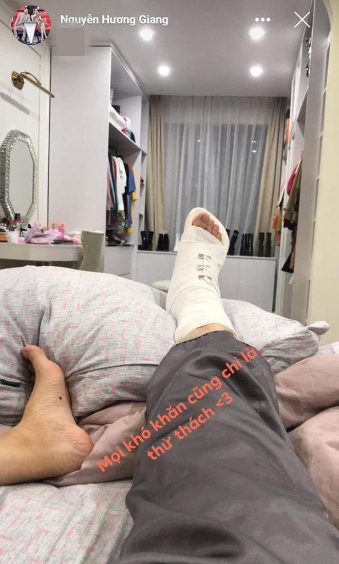 Hương Giang hạnh phúc khoe chân đã khỏe hẳn trở lại sau thời gian phải bó bột vì chấn thương - Ảnh 3.