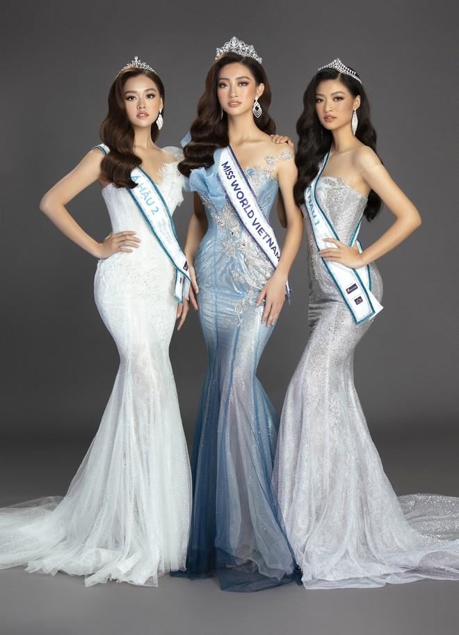 Bộ ảnh đẹp phô diễn triệt để nhan sắc của Top 3 Miss World Việt, bất ngờ với Á hậu 1 từng bị chê không xứng đáng! - Ảnh 2.