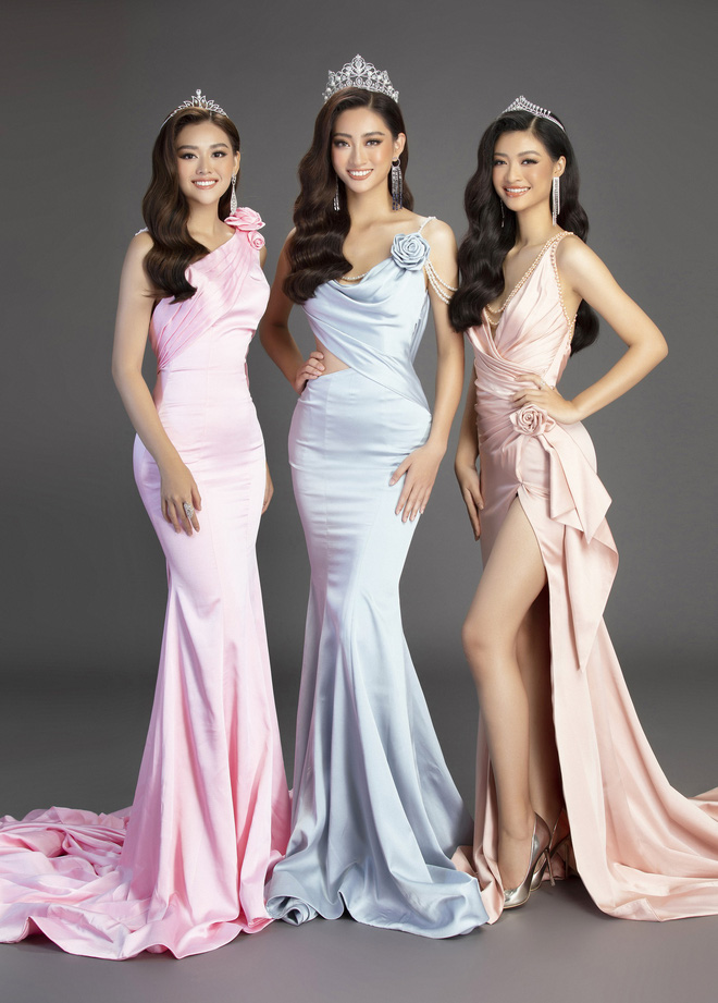 Bộ ảnh đẹp phô diễn triệt để nhan sắc của Top 3 Miss World Việt, bất ngờ với Á hậu 1 từng bị chê không xứng đáng! - Ảnh 1.