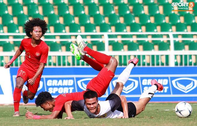 Cầu thủ U18 Lào lao vào xô xát với đối phương ngay sau thất bại tại giải U18 Đông Nam Á - ảnh 7