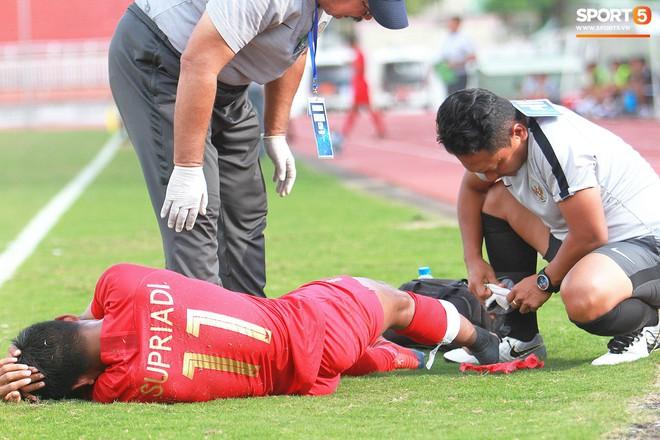 Cầu thủ U18 Lào lao vào xô xát với đối phương ngay sau thất bại tại giải U18 Đông Nam Á - ảnh 6