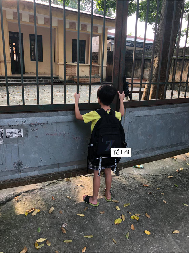 Tin lời bạn Lan bàn bên, cậu nhóc bị lừa một vố đến trường khai giảng rồi ngồi chưng hửng vì chẳng có một ai! - ảnh 2