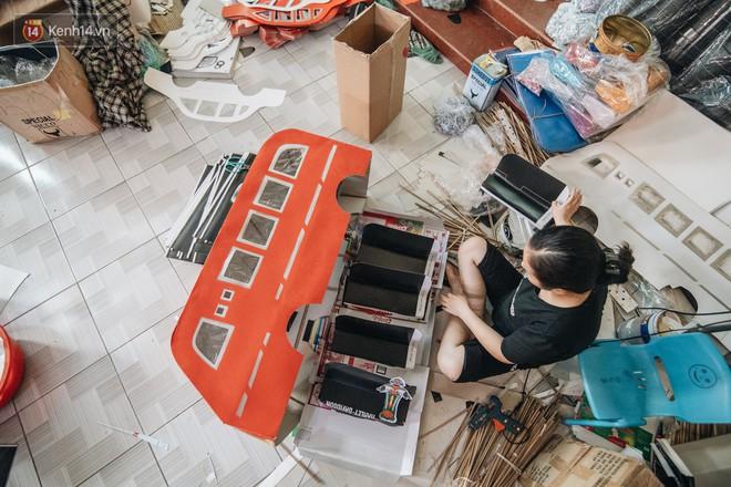Thủ phủ vàng mã lớn nhất cả nước tấp nập tháng cô hồn: túi Chanel, xe phân khối lớn, xe đạp điện xuất xưởng - ảnh 16