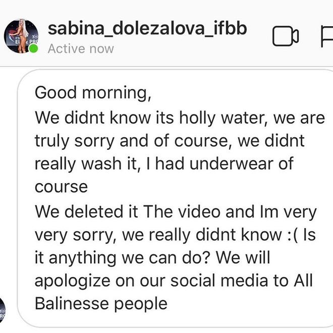 Dùng nước thiêng ở ngôi đền nổi tiếng Bali để… rửa mông, cặp người mẫu nhận chỉ trích gay gắt từ cộng đồng mạng - ảnh 15