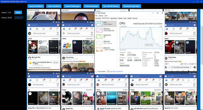 Phát hiện Group kín Facebook chuyên bán tool tự tương tác: Cày hàng trăm smartphone cùng lúc, lợi nhuận trăm triệu là dễ dàng - ảnh 2