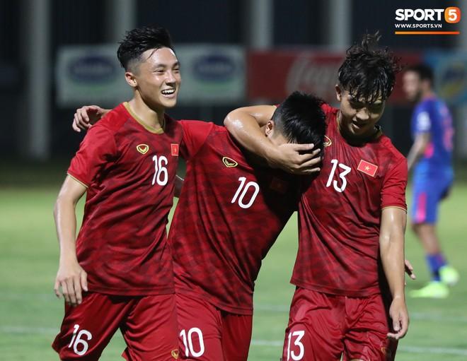 Martin Lo tỏa sáng, U22 Việt Nam thắng nhẹ CLB mạnh nhất của Hong Kong (Trung Quốc) - ảnh 4