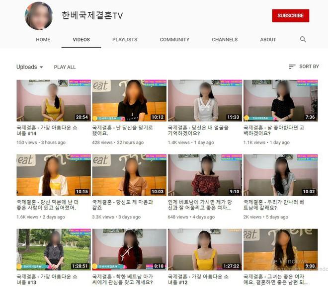 YouTube tràn lan clip tự giới thiệu của cô dâu Việt muốn lấy chồng Hàn, chấp nhận bị trưng bày như hàng hóa để có được cơ hội đổi đời - ảnh 1