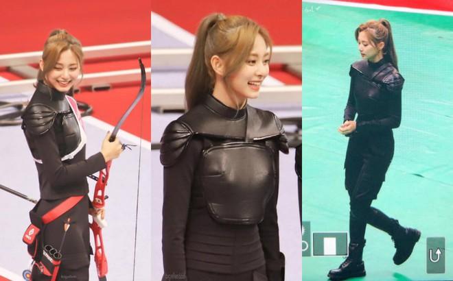 Đại hội thể thao Idol: Tzuyu (TWICE) tiếp tục chứng minh kỹ năng bắn cung thần sầu - ảnh 3