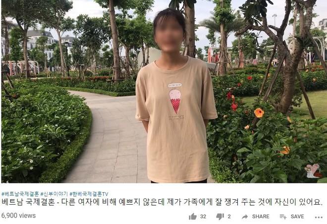 YouTube tràn lan clip tự giới thiệu của cô dâu Việt muốn lấy chồng Hàn, chấp nhận bị trưng bày như hàng hóa để có được cơ hội đổi đời - ảnh 3