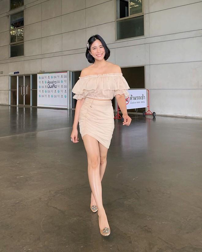 Bà xã hơn 3 tuổi của dượng Chat: Đã xinh còn mặc siêu đẹp, chẳng trách biến chồng thành nam thần chung thủy bậc nhất showbiz Thái - ảnh 5