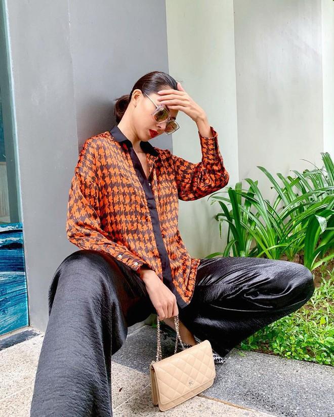 """Street style sao Việt: Tiểu Vy tự tin khoe eo con kiến, Tú Anh bị chàng """"quý tử"""" chiếm hết spotlight - ảnh 5"""