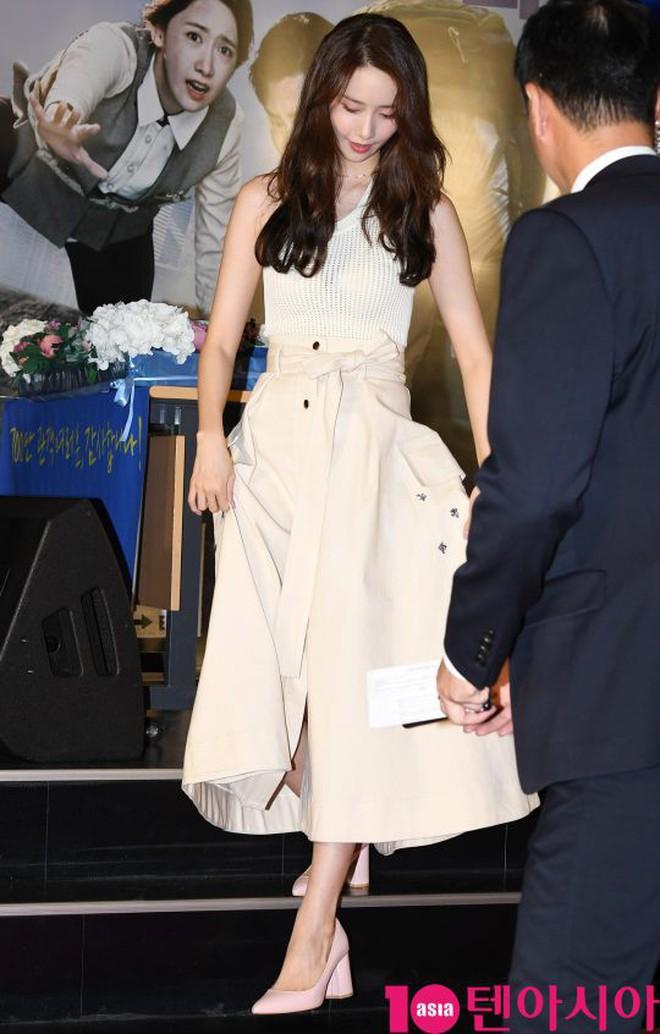 Thảm đỏ showcase gây sốt: Yoona diện áo ren lồ lộ nội y, đẹp rạng rỡ bên chồng ca sĩ Hậu duệ mặt trời - ảnh 5