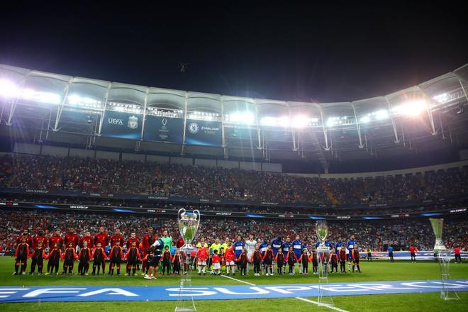 Đánh bại Chelsea sau loạt sút luân lưu cân não, Liverpool lên ngôi tại Siêu cúp châu Âu - ảnh 1