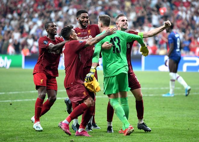 Đánh bại Chelsea sau loạt sút luân lưu cân não, Liverpool lên ngôi tại Siêu cúp châu Âu - ảnh 20
