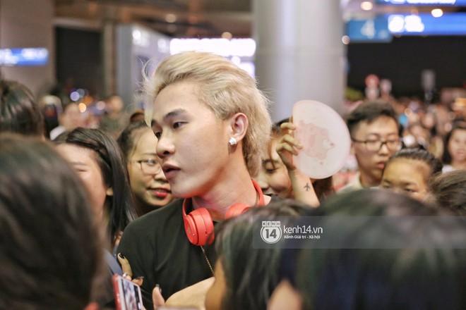 Giữa liên hoàn phốt, Jack cùng K-ICM rời Việt Nam sang Hàn công tác, choáng khung cảnh fan vây kín sân bay tiễn idol - ảnh 7